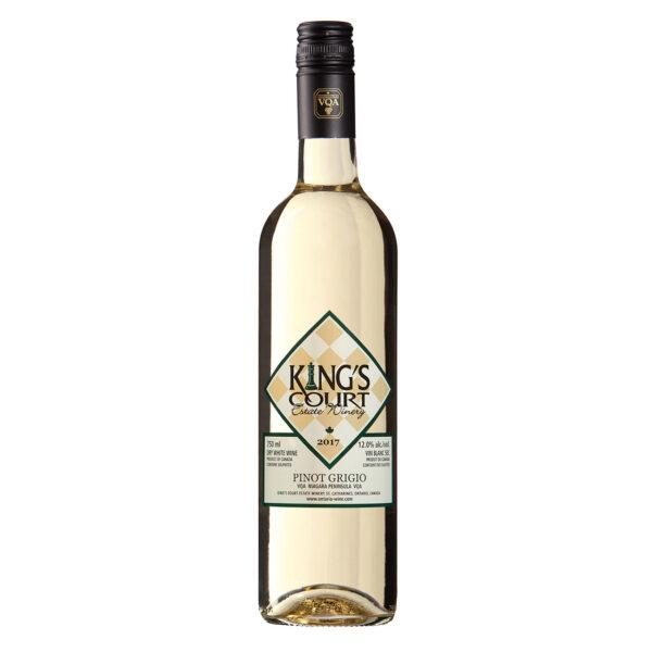 King's Court Estate Winery 2017 Pinot Grigio