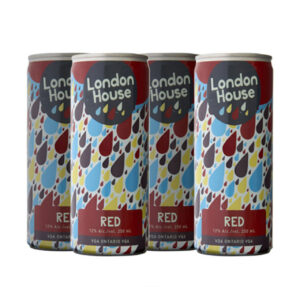 London House Red 4 Pack Can