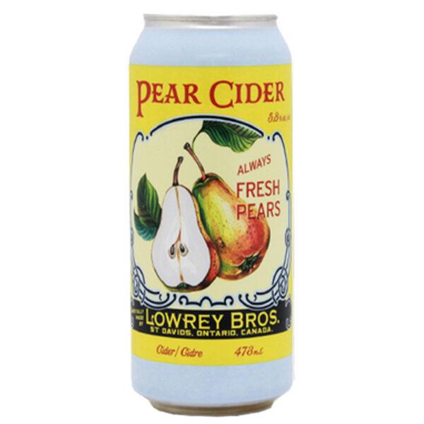 Lowrey Pear Cider